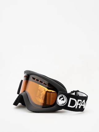 Okuliare na snowboard Dragon DX (black/lumalens amber)