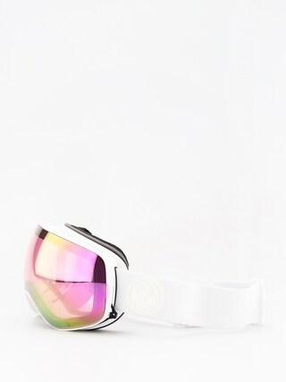 Dragon Okuliare na snowboard X2s (whiteout/lumalens pink ion/dark smoke)