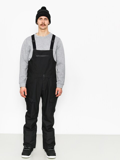 Snowboardové nohavice Burton Reserve Bib (true black)