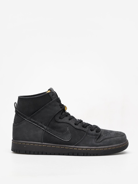 Topánky Nike SB Sb Zoom Dunk High Pro Deconstructed Premium (black/black velvet brown peat moss)