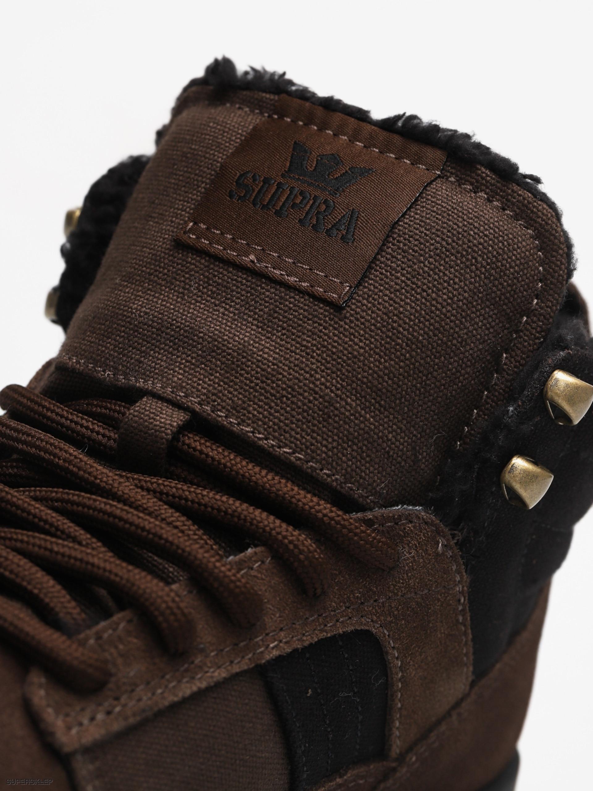 61a04c5ba0e81 Zimné topánky Supra Bandit (demitasse black)