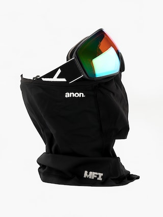 Snowboardovu00e9 okuliare Anon M4 Toric (black/sonar green)
