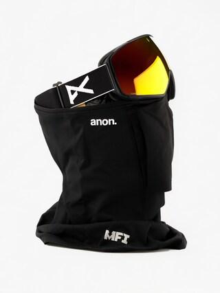 Snowboardovu00e9 okuliare Anon M4 Toric (black/sonar red)