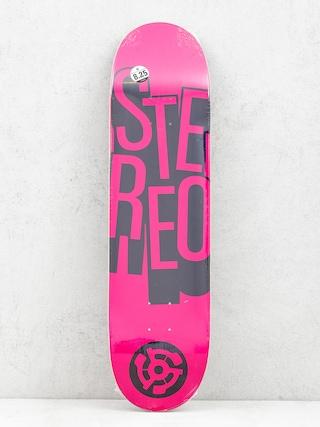 Doska Stereo Stacked (pink)