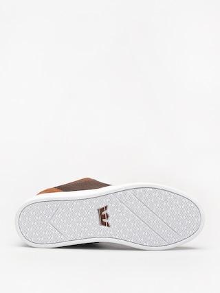 Topánky Supra Chino Court (brown/demitasse white)