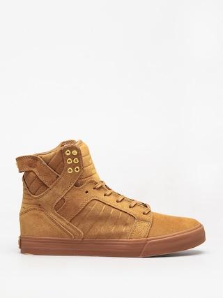 Topánky Supra Skytop (tan/lt gum)