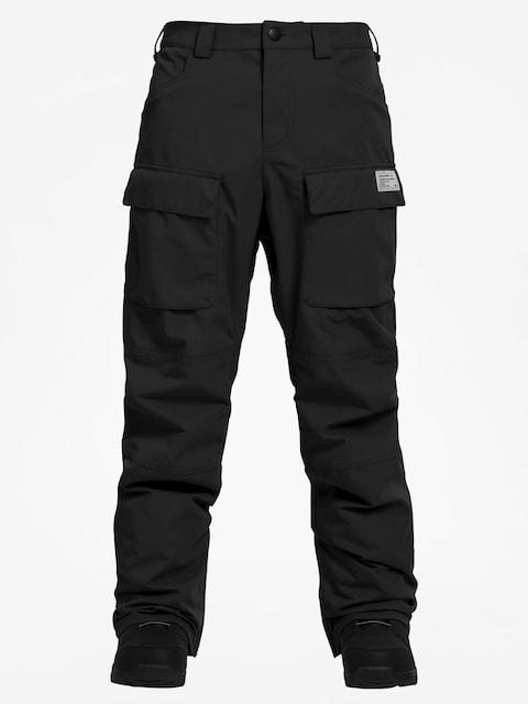 Snowboardové nohavice Analog Mortar (true black)