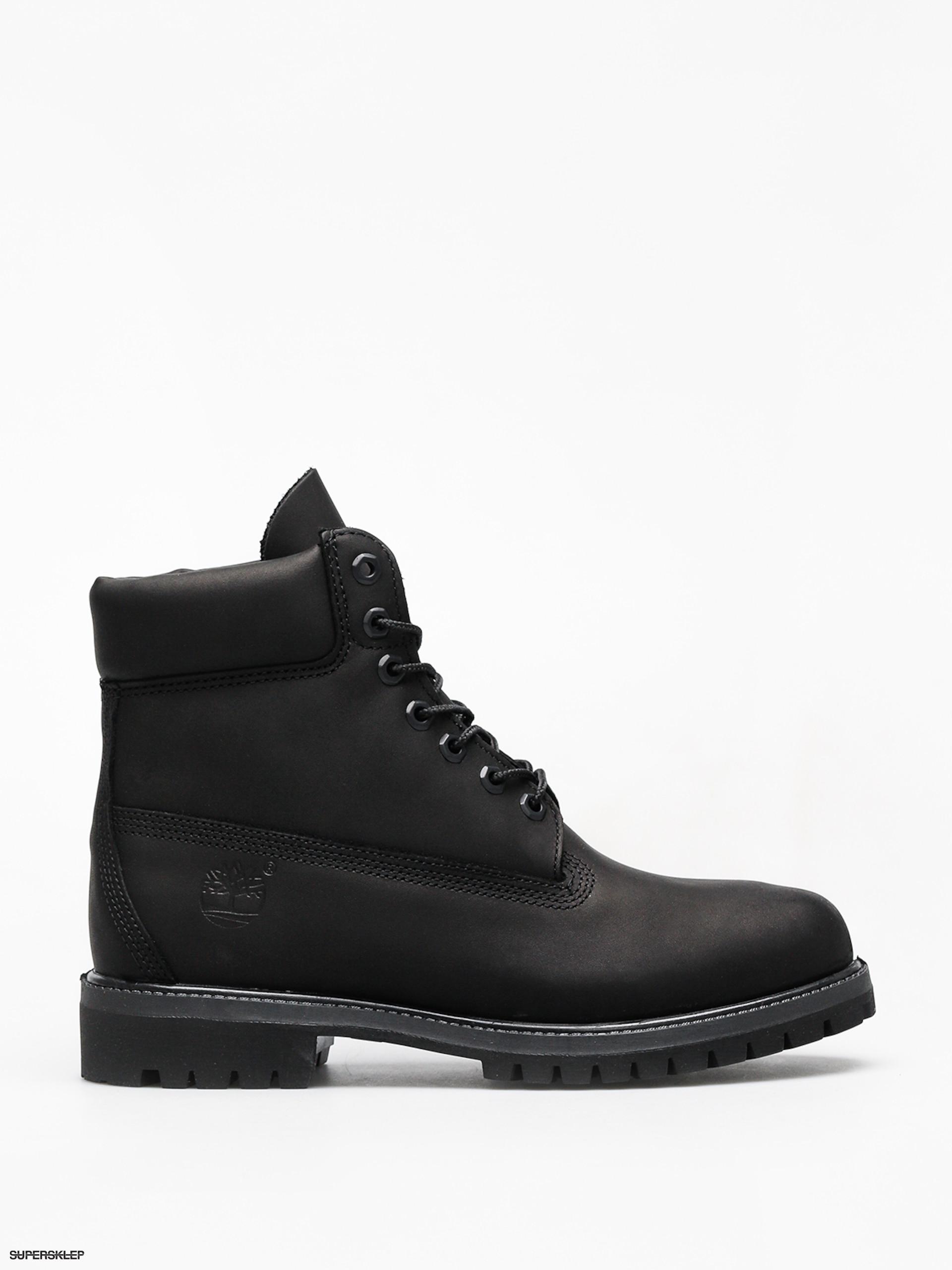 baf6ded96 Zimné topánky Timberland 6 Premium (black)