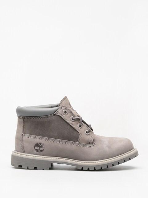 Zimné topánky Timberland Nellie Chk Lthr Sd Nwp Wmn (steeple grey)