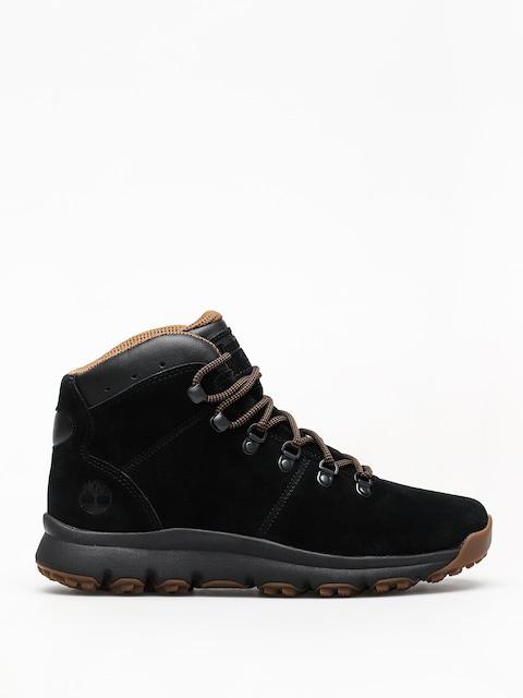 Zimné topánky Timberland World Hiker Mid (jet black)