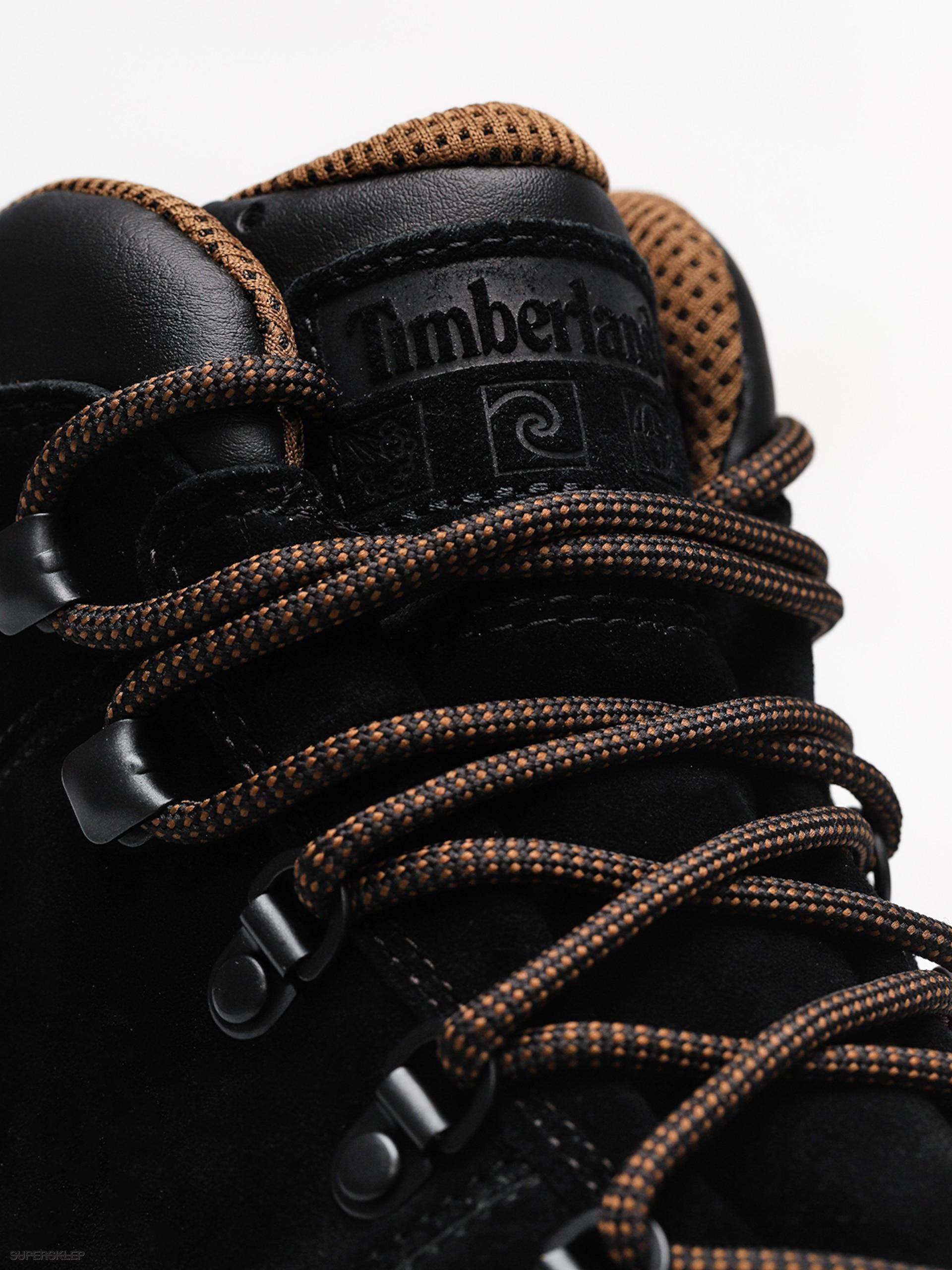 Zimné topánky Timberland World Hiker Mid (jet black) 7da9114f054