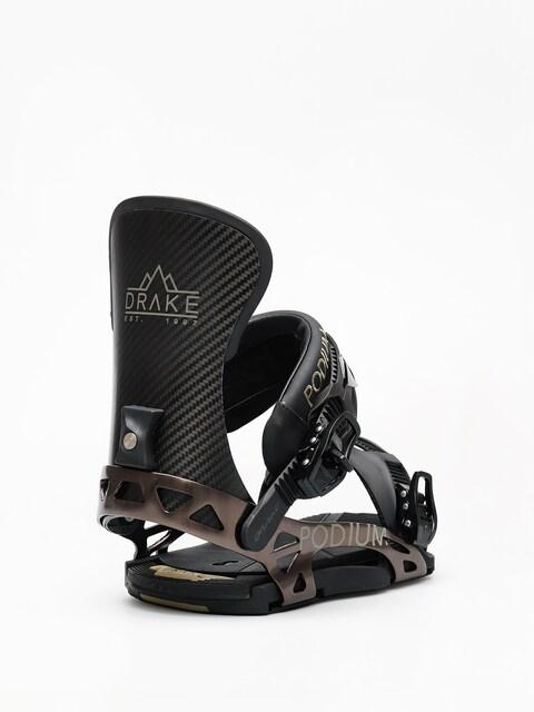 Snowboardové viazanie Drake Podium Ff (black)