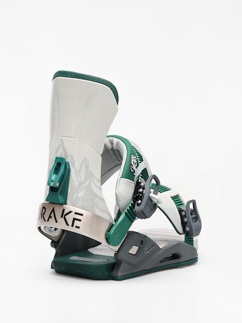 Snowboardové viazanie Drake Super Sport (grey/black/green)