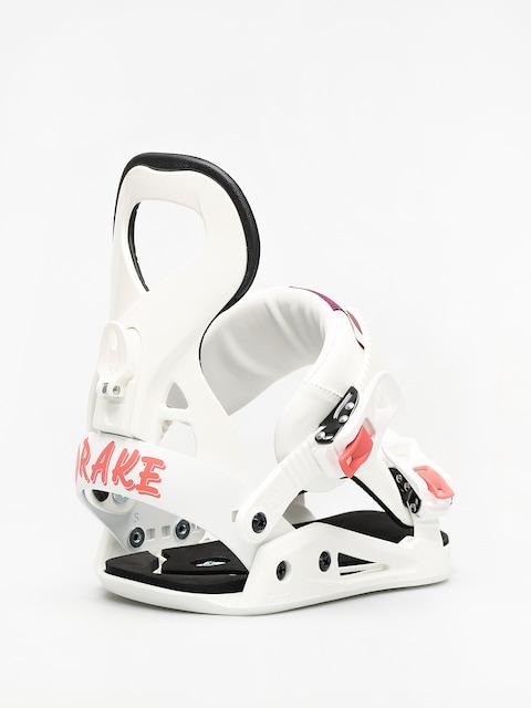 Snowboardové viazanie Drake Queen Wmn (white)