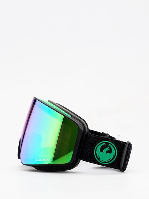 Okuliare na snowboard Dragon PXV (split/lumalens green ion/lumalens amber)