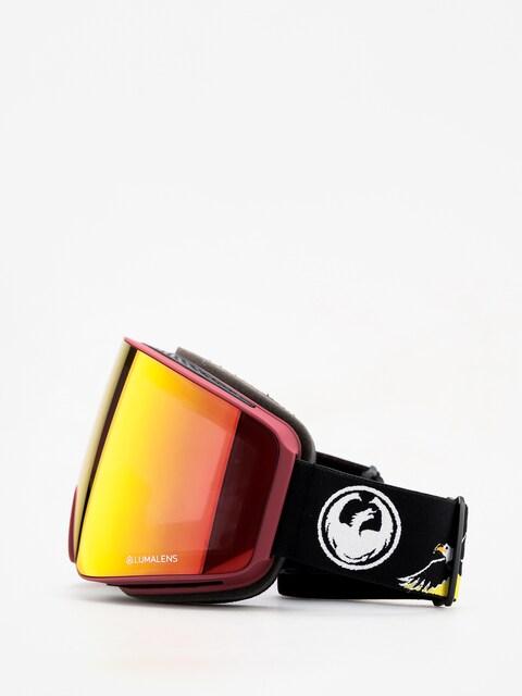 Okuliare na snowboard Dragon PXV (eagle/lumalens red ion/lumalens amber)