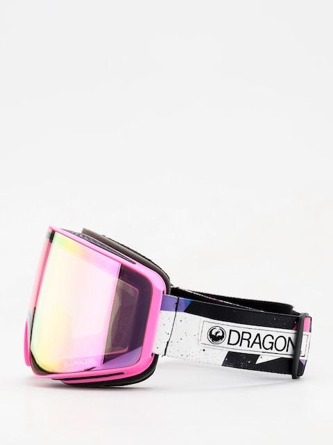 Okuliare na snowboard Dragon PXV (tropic/lumalens pink ion/dark smoke)