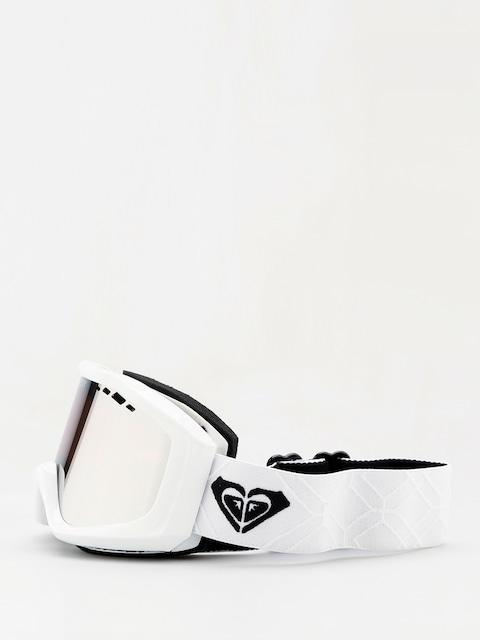Okuliare na snowboard Roxy Sunset Mirror Wmn (bright white)